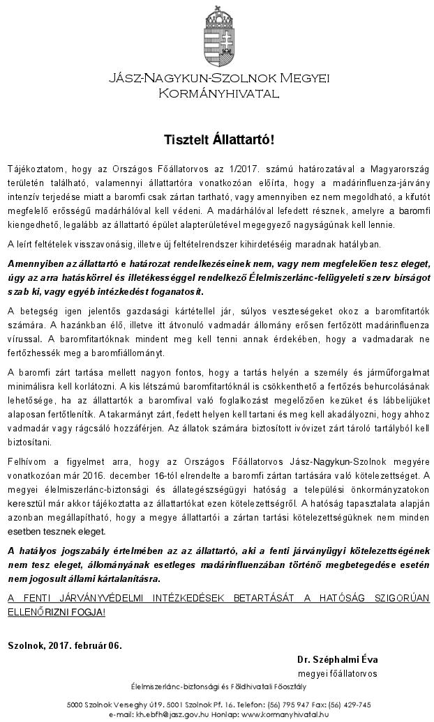 Felhivas_madarinfluenzaval_kapcsolatosan_2017